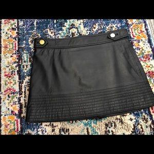 Marciano leather miniskirt 0